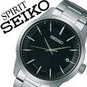 【5年保証対象】セイコー腕時計 SEIKO時計 SEIKO 腕時計 セイコー 時計 スピリット スマート SPIRIT SMART メンズ/ブラック SBTM2...