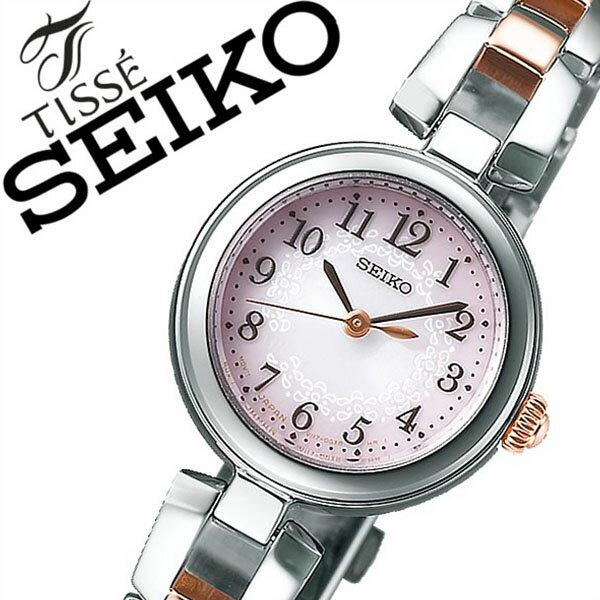 【延長保証対象】セイコー ティセ 腕時計[ SEIKO TISSE 時計]セイコーティセ 時計[ SEIKOTISSE 腕時計]レディース/ピンク SWFA165 [人気/新作/ブランド/トレンド/メタル ベルト/シンプル/かわいい/シルバー/ピンクゴールド][送料無料][入学/卒業/祝い] SEIKO時計 セイコー腕時計 SEIKO 腕時計 セイコー 時計 ティセ TISSE