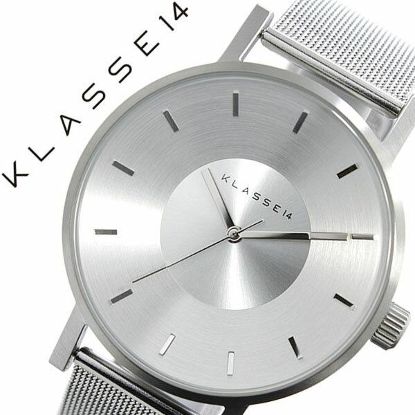 クラス14 腕時計[ KLASSE14 時計 ]クラス フォーティーン 時計[ KLASSE 14 腕時計 ]ヴォラーレ VOLARE MARIO NOBILE メンズ/レディース/シルバー VO14SR002M [メタル ベルト/デザイナーズ/クラッセ/ボラーレ/マリオ/人気/メッシュ/北欧/ブランド/おしゃれ][送料無料] クラス14 腕時計( KLASSE14 時計 )クラス フォーティーン 時計( KLASSE 14 腕時計 )クラス 14