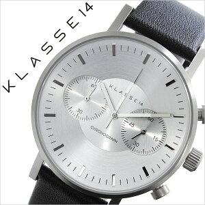 クラス腕時計[KLASSE14時計]クラスフォーティーン時計[KLASSE14腕時計]ヴォラーレVOLAREMARIONOBILEメンズ/レディース/シルバーVO15CH001M[革ベルト/クロノグラフ/デザイナーズ/クラッセ/ボラーレ/マリオ/ブラック/北欧/シンプル/インスタ/insta][送料無料]