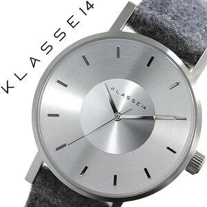 クラス腕時計[KLASSE14時計]クラスフォーティーン時計[KLASSE14腕時計]ヴォラーレフランネルVOLAREMARIONOBILEFlannelメンズ/レディース/シルバーVO15SA004M[革ベルト/クラッセ/ボラーレ/マリオ/グレー/フランネル/北欧/シンプル/おしゃれ][送料無料]