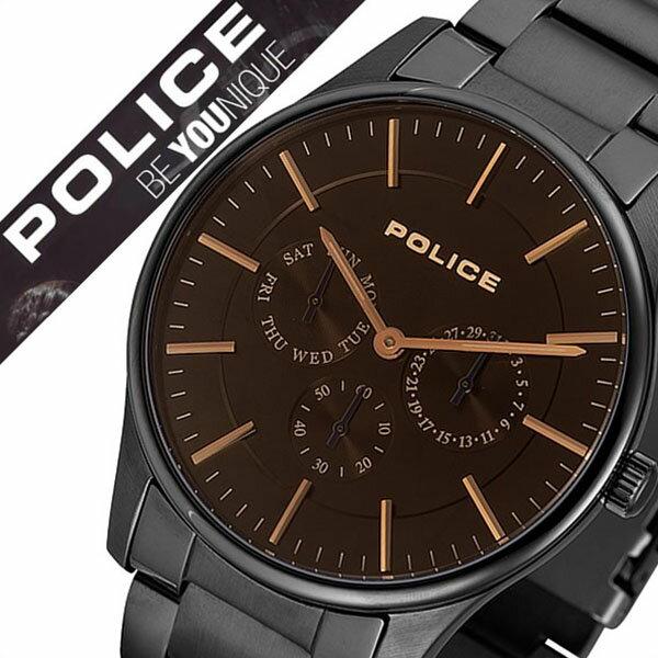 【5年保証対象】ポリス 腕時計[ POLICE 時計 ]ポリス時計[ POLICE腕時計 ]ポリス腕時計[ POLICE時計 ]カーティシー COURTESY メンズ/ブラック 14701JSB-02M [人気/新作/ブランド/トレンド/メタル ベルト/コーテシー/シンプル/ブラック/プレゼント/ギフト][送料無料] ポリス 腕時計( POLICE 時計 )ポリス時計( POLICE腕時計 )ポリス腕時計( POLICE時計 )
