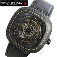 セブンフライデー 腕時計 SEVENFRIDAY Sevenfriday P02-02-WORKS P Series Engineering Progress Automatic Watch セブンフライデー 腕時計 男性 メンズ