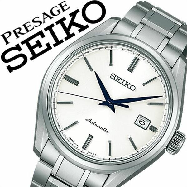 【延長保証対象】セイコー プレザージュ 腕時計[ SEIKO PRESAGE 時計 ]セイコープレザージュ 時計[ SEIKOPRESAGE 腕時計 ]プレサージュ/セイコー プレサージュ/メンズ/レディース/ホワイト SARX033 [メタル ベルト/機械式/自動巻/防水][送料無料][入学/卒業/祝い] セイコー プレザージュ 腕時計( SEIKO PRESAGE 時計 )セイコープレサージュ 時計( SEIKOPRESAGE 腕時計 )セイコープレザージュ時計 SEIKOPRESAGE腕時計