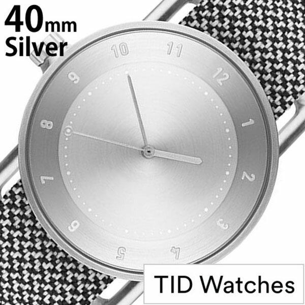【5年保証対象】[ ティッドウォッチズ ]ティッドウォッチ 腕時計[ TIDWatches 時計 ]ティッド ウォッチ 時計[ TID Watches 腕時計 ] TIDNo. 1 クヴァドラ Kvadrat メンズ/レディース/シルバー TID01-SV40-GRANITE [正規品/おしゃれ/アナログ/革/レザー/ホワイト][送料無料] 【当店は日本時計輸入協会が定めたウォッチコーディネーター在籍店です】【各種プレゼント・ギフト・名入れも承ります】[母の日][父の日][結納][結納返し][結婚祝い]