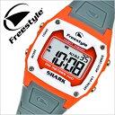 フリースタイル 腕時計[ FreeStyle 時計 ]フリー スタイル 時計[ Free Style 腕時計 ] シャーククラシック SHARK CLASSIC メンズ/レディース/グレー FS80988 [正規品/新作/人気/防水/サーフィン/サーファー/マリン/ウォーター/スポーツ/オレンジ][クリスマス プレゼント]