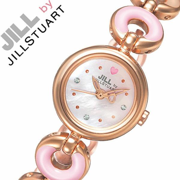 【5年保証対象】ジルバイジルスチュアート 腕時計[ JILL BY JILL STUART 時計 ]ジル バイ ジルスチュアート 時計[ JILLSTUART 腕時計 ]ジルスチュアート腕時計 ジルスチュアート時計 ラブ コレクション レディース/ホワイト NJAC601 [限定][送料無料]