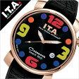 【5年保証対象】アイティーエー 腕時計 [ I.T.A 時計 ]アイティーエー 時計[ I.T.A 腕時計 ](ITA) ITA腕時計 ITA時計 カサノバ ビーチ ミディ CASANOVA BEACH Midi メンズ/レディース/ブラック[ラバー ベルト/クロコ/クオーツ/ゴールド/ブラック/マルチカラー][送料無料]