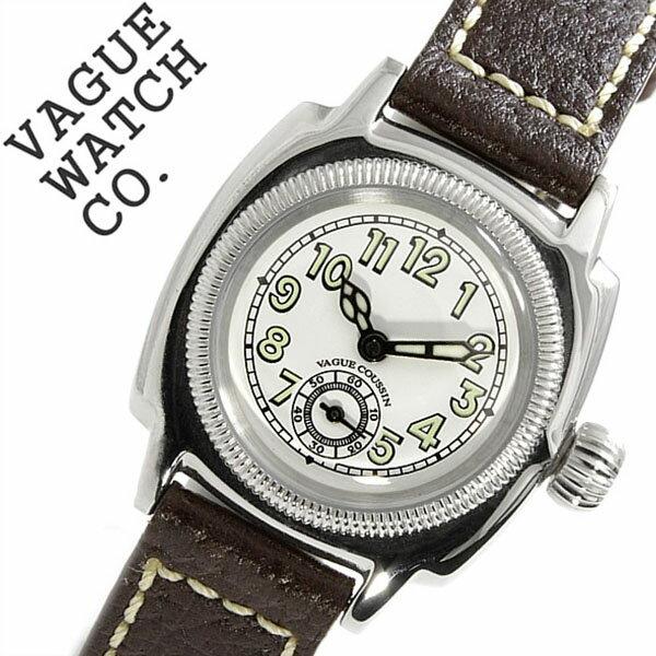 ヴァーグウォッチ 腕時計[ VAGUEWATCH Co. 時計 ]ヴァーグ ウォッチ 時計[ VAGUE WATCH Co. 腕時計 ]クッサン COUSSIN レディース/ホワイト CO-S-003[バードウォッチ/バーグウォッチ/人気/ブランド/アンティーク/レザー/革/ブラウン/シルバー/プレゼント/ギフト][送料無料] ヴァーグウォッチ 腕時計( VAGUEWATCH Co. 時計 )ヴァーグ ウォッチ 腕時計( VAGUE WATCH Co. 時計 )ヴァーグウォッチコーポレーション
