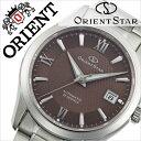オリエント 腕時計[ ORIENT 時計 ]オリエント腕時計 オリエント時計 ORIENT腕時計 オリエントスター スタンダード Orient Star Standard メンズ/ブラウン WZ0031AC [人気/ブランド/メタル ベルト/機械式/自動巻/メカニカル/正規品/オリエント スター/シルバー][送料無料]