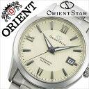 オリエント 腕時計[ ORIENT 時計 ]オリエント腕時計 オリエント時計 ORIENT腕時計 オリエントスター スタンダード Orient Star Standard メンズ/オフホワイト WZ0041AC [人気/ブランド/メタル ベルト/機械式/自動巻き/メカニカル/オリエント スター/シルバー][送料無料]