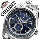 オリエント 腕時計 ORIENT 時計 オリエント腕時計 オリエント時計 ORIENT腕時計 オリエントスター ワールドタイム Orient Star World Time メンズ ネイビー WZ0041JC 人気 ブランド メタル ベルト 機械式 自動巻 メカニカル 正規品 国産 シルバー 送料無料