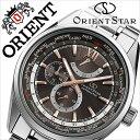 オリエント 腕時計[ ORIENT 時計 ]オリエント腕時計 オリエント時計 ORIENT腕時計 オリエントスター ワールドタイム Orient Star World Time メンズ/ブラック WZ0051JC [人気/ブランド/メタル ベルト/機械式/自動巻/メカニカル/正規品/国産/シルバー][送料無料]