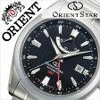 オリエント 腕時計[ ORIENT 時計 ]オリエント腕時計 オリエント時計 ORIENT腕時計 オリエントスター ジーエムティー Orient Star GMT メンズ/ブラック WZ0061DJ [人気/ブランド/メタル ベルト/機械式/自動巻/メカニカル/正規品/国産/オリエント スター/シルバー][送料無料]