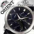 オリエント 腕時計[ ORIENT 時計 ]オリエント腕時計 オリエント時計 ORIENT腕時計 オリエントスター レトログラード Orient Star Retrograde メンズ/ネイビー WZ0081DE [人気/ブランド/革 ベルト/機械式/自動巻/メカニカル/正規品/国産/オリエント スター/ブルー][送料無料]