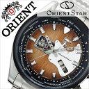 オリエント 腕時計[ ORIENT 時計 ]オリエント腕時計 オリエント時計 ORIENT腕時計 オリエントスター レトロフューチャー ギター Orient Star Retro Future Guitar メンズ/ブラウン WZ0191DA [ブランド/メタル ベルト/機械式/自動巻き/オリエント スター/シルバー][送料無料]