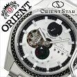 オリエント 腕時計[ ORIENT 時計 ]オリエント腕時計 オリエント時計 ORIENT腕時計 オリエントスター レトロフューチャー ターンテーブル Orient Star Retro Future Turn Table メンズ/シルバー WZ0251DK [メタル ベルト/機械式/自動巻き/オリエント スター][送料無料]