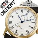 オリエント 腕時計[ ORIENT 時計 ]オリエント腕時計 オリエント時計 ORIENT腕時計 オリエントスター エレガントクラシック Orient Star Elegant Classic メンズ/オフホワイト WZ0321EL [ブランド/革 ベルト/機械式/自動巻き/オリエント スター/ブラウン/ゴールド][送料無料]