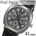 ポールスミス 腕時計[PaulSmith 時計]ポール スミス 時計[Paul Smith 腕時計]アトミック ATOMIC メンズ/グレー P10045 [革...