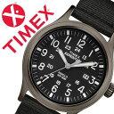 【5年保証対象】タイメックス 腕時計[TIMEX 時計]フィールド コレクション スカウト The Field Collection Scout メンズ/ブラッ...