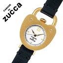 【5年保証対象】カバンドズッカ 腕時計[CABANEdeZUCCA 時計]カバン ド ズッカ 時計[CABANE de ZUCCA 腕時計] キャスト ハート Cast Heart レディース/ホワイト AJGK075 [革 ベルト/正規品/SEIKO/ブレス ウォッチ/ブラック/ゴールド][送料無料]