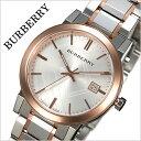 バーバリー 時計[BURBERRY 腕時計]バーバリー ロンドン 腕時計[BURBERRY LONDON 時計] シティ The City メンズ/シルバー BU9006 [おすすめ/ブランド/プレゼント/ギフト/おしゃれ/オシャレ/メタル ベルト/ピンクゴールド/ローズゴールド][送料無料]