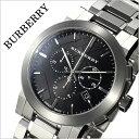 バーバリー 腕時計[BURBERRY 時計]バーバリー ロンドン 時計[BURBERRY 腕時計] ザ シティ The City メンズ/ブラック BU9351 [新作/人気/ブランド/防水/高級/プレゼント/ギフト/おしゃれ/オシャレ/メタル ベルト/シルバー][送料無料]