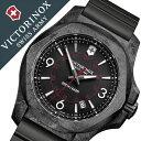 ビクトリノックス 腕時計[ VICTORINOX 時計 ]ヴィクトリノックス 時計[ VICTORINOX SWISS ARMY ]ビクトリノックス スイスアーミー イノックス カーボン I.N.O.X. CARBON メンズ/ブラック VIC241777 [新作/人気/ブランド/ミリタリー/軍用/ラバー]