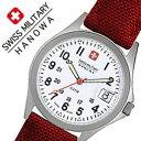 【当店は日本時計輸入協会が定めたウォッチコーディネーター在籍店です】【各種 プレゼント ギフト 名入れ 承ります】[ バレンタイン ご褒美 サプライズ ラッピング ギフト ]【5年保証対象】スイスミリタリーハノワ 腕時計 SWISSMILITARYHANOWA 時計 スイス ミリタリー ハノワ 時計 SWISS MILITARY HANOWA 腕時計 クラシック CLASSIC メンズ ホワイト ML-408 正規品 人気 スイス 防水 布 レッド カレンダー 送料無料[ 成人式 成人 祝い ]