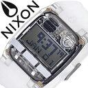 ニクソン 腕時計 NIXON 時計 ニクソン腕時計 NIXON時計 コンプ COMP ALL WHITE メンズ グレー A408-126 [ シリコン ベルト 液晶 デジタル アナログ カスタム オール ホワイト スケルトン プレゼント ギフト ]