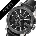 グッチ 腕時計 GUCCI 時計 グッチ 時計 GUCCI 腕時計 Gクロノ G-CHRONO メンズ/ブラック YA101205