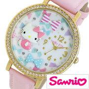 サンリオ ハローキティ 日本製 時計 Sanrio Hello Kitty 腕時計 レディース キッズ ウォッチ ホワイト MJSR-M10[アナログ かわいい おしゃれ 人気 女性 子供 ジュニアサイズ 男の子 女の子 キャラクター 誕生日 入学 卒業 祝い プレゼント ギフト小学生 中学生 高校生]