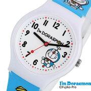 アイアム ドラえもん 時計 I'm Doraemon 腕時計 サンリオデザイン レディース キッズ ウォッチ ホワイト SR-V19[アナログ かわいい おしゃれ 人気 女性 子供 ジュニアサイズ 男の子 女の子 キャラクター 誕生日 入学 卒業 祝い プレゼント ギフト小学生 中学生 高校生]