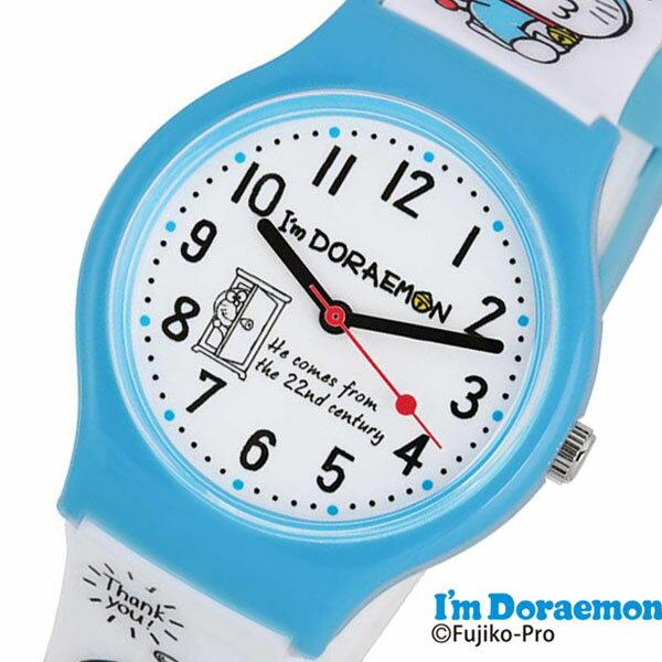 ドラえもん 時計 ドラエモン 腕時計 アイアム どらえもん Doraemon キッズ ホワイト SR-V20 [ アナログ キッズウォッチ 女の子 男の子 子供 子供用 こども 子ども 人気 ブランド かわいい 学習 教育 プレゼント ギフト アニメ キャラクター 入学祝い 小学生 誕生日 ]