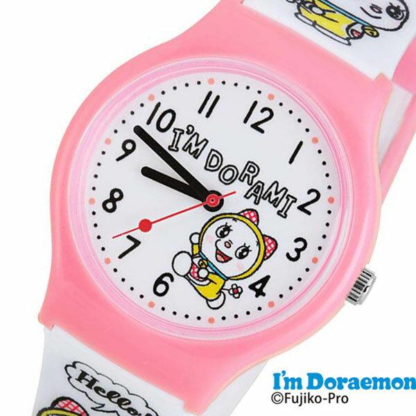 ドラえもん 時計 ドラエモン 腕時計 アイアム どらえもん Doraemon キッズ ホワイト SR-V21 [ アナログ キッズウォッチ 女の子 男の子 子供 子供用 こども 子ども 人気 ブランド かわいい 学習 教育 プレゼント ギフト アニメ キャラクター 入学祝い 小学生 誕生日 ]