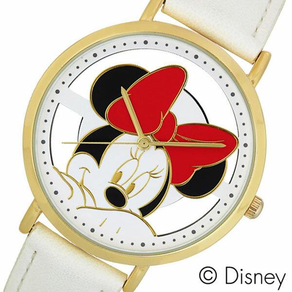 ディズニー ミニーマウス 時計 Disney Minnie Mouse 腕時計 レディース キッズ ウォッチ スケルトン WD-B13-MN[アナログ ゴールド キャラクター かわいい 女性 子供 ジュニアサイズ 男の子 女の子 人気 おしゃれ 誕生日 小学生 中学生 高校生 祝い プレゼント ギフト]