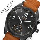 クロナビー 腕時計 KRONABY 時計 エイペックス APEX メンズ ブラック A1000-3116 防水 スマートウォッチ スマートフォン スマホ SMART ..
