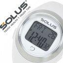 楽天腕時計ギフトのパピヨンソーラス腕時計[SOLUS時計](SOLUS 腕時計 ソーラス 時計)心拍時計(ハートレートモニター) 時計 01-800-04 [正規品 スポーツ ダイエット エクササイズ ギフト バーゲン プレゼント ご褒美][おしゃれ 腕時計]