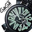 ガガミラノ [ GaGaMILANO ] ガガミラノ 腕時計 [ GaGaMILANO 腕時計 ] ガガ ミラノ [ GaGa MILANO ] ガガミラノ 時計 [ GaGaMILANO時計 ] ガガ腕時計[ GaGa腕時計 ]スリム 46MM PVD[SLIM 46MM PVD]/メンズ/レディース/5082.2[新作/人気/プレゼント/ギフト][送料無料]