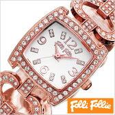 フォリフォリ腕時計 FolliFollie腕時計 フォリフォリ 時計 FolliFollie 時計 フォリフォリ 腕時計 Folli Follie フォリ フォリ FolliFollie時計 フォリフォリ時計 レディース[ブランド/生活/防水/バングル/ピンクゴールド][送料無料][中学生/高校生/大学生]