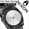ニクソン 時計 [ NIXON 時計 ] ニクソン 腕時計 [ NIXON ] ニクソン時計 [ NIXON時計 ] タイムテラー アセテート[THE TIME TELLER ACETATE]/レディース/A327-1039 [人気/新作/スポーツウォッチ/サーフ/スノー/防水/マリンスポーツ][送料無料] 02P01Oct16