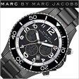 マークバイマークジェイコブス 時計 MARCBYMARCJACOBS マークジェイコブス 腕時計( MARC BY MARCJACOBS 腕時計 マーク バイ マーク ジェイコブス 時計 )マリンコレクション[Marine Collection Rock46 Chrono]メンズ/レディース/ガンメタル/MBM5025[送料無料][mpw]