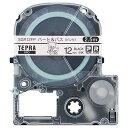 【お取寄せ品】 キングジム テプラ PRO テープカートリッジ リラックマラベル 12mm ハート&バス(ピンク)/黒文字 SGR12FP 1個