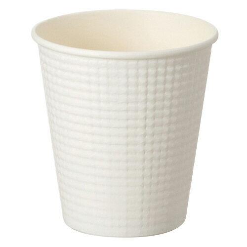 サンナップ エンボスカップ ホワイト 210ml(7オンス) C2150E 1パック(50個)