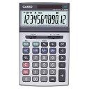 カシオ 本格実務電卓 12桁 ジャストサイズ JS−200W...