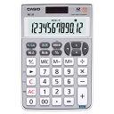 カシオ テンキー電卓 12桁 ミニナイスサイズ MZ-20-SR-N 1台 【送料無料】