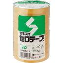 積水化学 セロテープ No.252 15mm×70m C252X13 1パック(10巻)