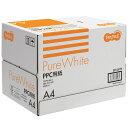 TANOSEE PPC用紙 Pure White A4 1箱(2500枚:500枚×5冊)