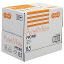 TANOSEE PPC用紙 Pure White B5 1箱(2500枚:500枚×5冊)