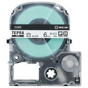 キングジム テプラ PRO テープカートリッジ 6mm 白/黒文字 SS6K−5P 1パック(5個) 【送料無料】